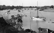 Bursledon, River Hamble c.1960