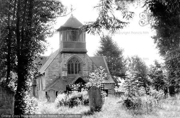 Bursledon, St Leonard's Church c.1955