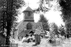 St Leonard's Church c.1955, Bursledon
