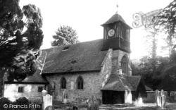 St Leonard's Church c.1965, Bursledon