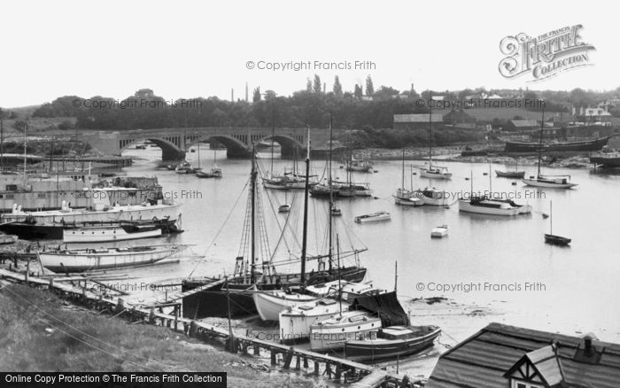 Photo of Bursledon, the Bridge c1955
