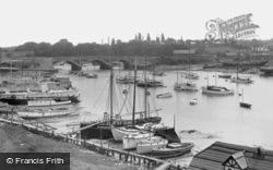 The Bridge c.1955, Bursledon