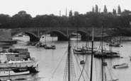 Bursledon, The Bridge c.1955