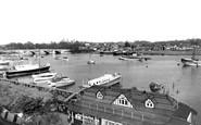 Bursledon, The River Hamble c.1955