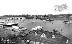 The River Hamble c.1955, Bursledon