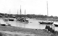 Bursledon, the River Hamble c1960