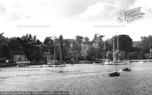 Bursledon, the River c1960