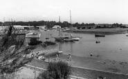 Bursledon, The River Hamble c.1960