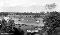 The River Hamble c.1965, Bursledon