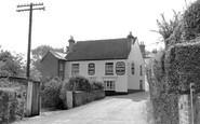 Bursledon, The Vine Inn c.1960