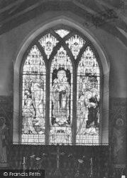 Burstall, Church, The East Window c.1920