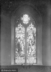Burstall, Church, The Memorial Window c.1920