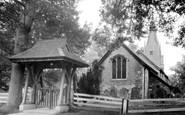 Burstow, St Bartholomew's Church c1955