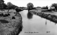 Burtle, River Bridge c.1960