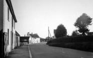 Burton Agnes, Main Road c.1955