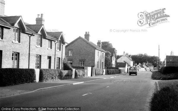 Burton Agnes, Main Street c1955