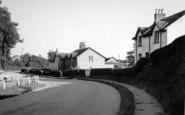 Burton Agnes, Station Road c.1955