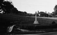 Burton Agnes, The Cenotaph c.1955