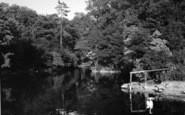 Burton Agnes, The Pond c.1955