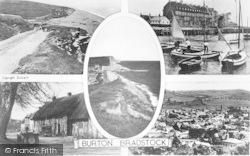 Burton Bradstock, Composite c.1950