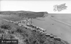 Freshwater Caravan Camp c.1960, Burton Bradstock