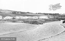 Burton Bradstock, Freshwater Caravan Park c.1960