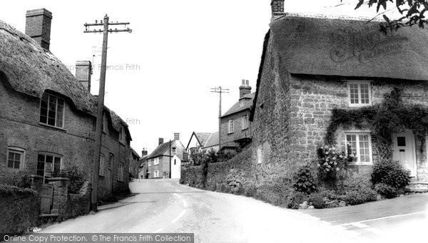 Photo of Burton Bradstock, High Street  c.1960