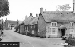Burton Bradstock, High Street c.1965
