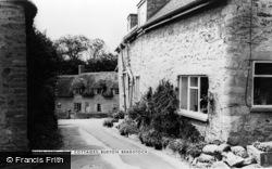 Burton Bradstock, Old Cottages c.1965