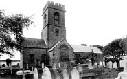 Burton Bradstock, St Mary's Church 1906