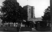 Burton Bradstock, St Mary's Church c.1950