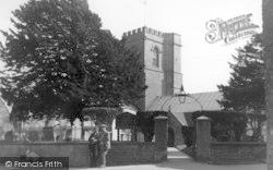 St Mary's Church c.1950, Burton Bradstock