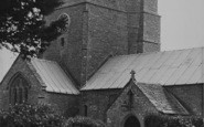 Burton Bradstock, St Mary's Church c.1955