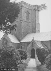 St Mary's Church c.1955, Burton Bradstock