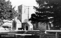 St Mary's Church c.1960, Burton Bradstock