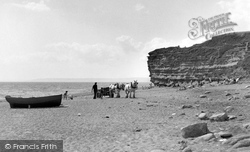 Burton Bradstock, The Beach 1954