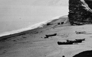 Burton Bradstock, The Beach And Cliffs 1922