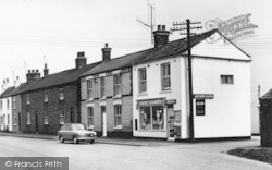 The Post Office c.1960, Burton Fleming