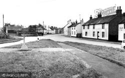 The Village From The Church c.1960, Burton Fleming