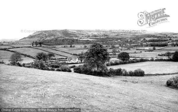 Burton In Kendal, Farleton Knot From The Hangings c.1955