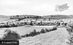 Burton In Kendal, General View c.1955