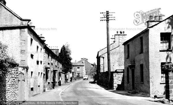 Burton In Kendal, the Main Street c1955