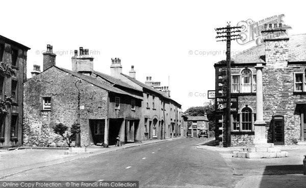 Burton In Kendal, the Square c1955