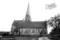 Burton In Lonsdale, All Saints Church 1890