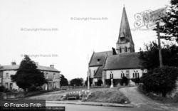 All Saints Church c.1960, Burton In Lonsdale