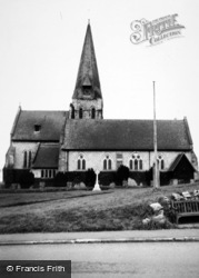 Burton In Lonsdale, All Saints Church c.1960