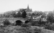 Burton In Lonsdale, The Bridge And All Saints Church c.1960