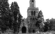 Burton Latimer, Church Of St Mary The Virgin c.1965