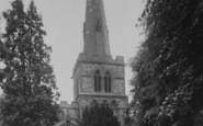 Burton Latimer, The Church c.1955