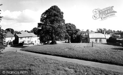 Burton Leonard, Village Green And School c.1960